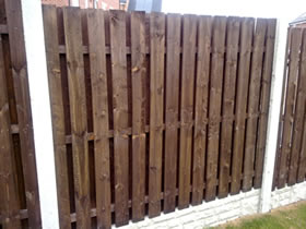 Timber Fence Panels